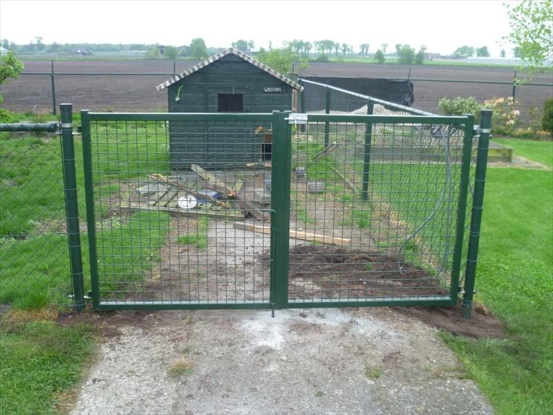 Tuinhek j vd mortel hekwerken poorten - Prieel ijzer ...